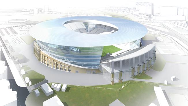 MŚ 2018 Jekaterynburg: Stadion Centralny