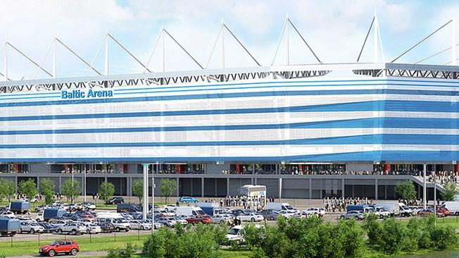 MŚ 2018 Kaliningrad: Stadion Kaliningrad