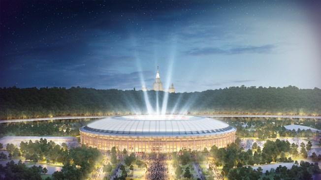 MŚ 2018 Moskwa: Stadion Łużniki