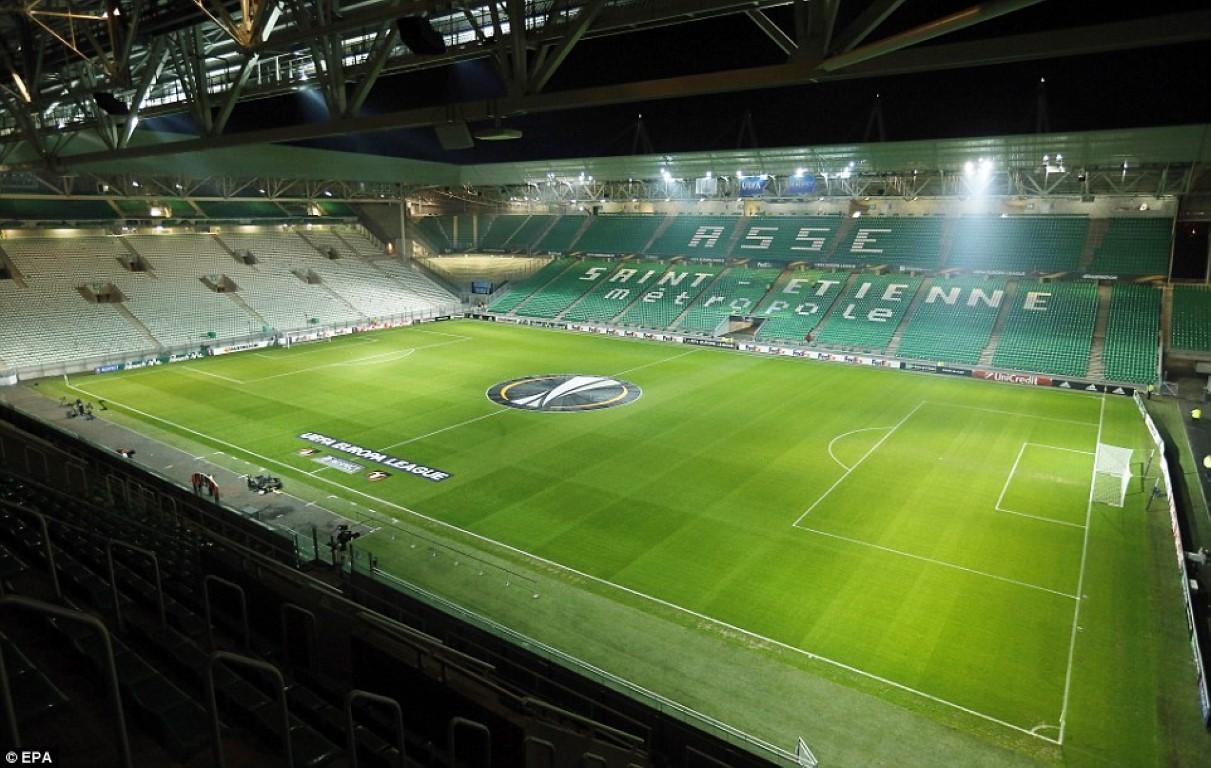 ME 2016 SAINT-ETIENNE Stade Geoffroy Guichard