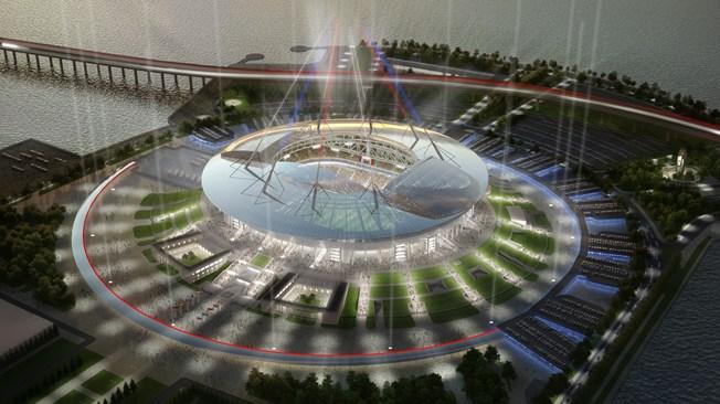 MŚ 2018 Sankt-Petersburg: Stadion Sankt-Petersburg