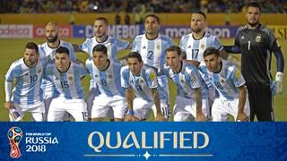 zdjęcie zespołu dla Argentyna (2018)