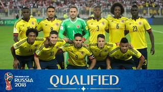 zdjęcie drużyny dla Kolumbia (2018)