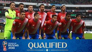 zdjęcie drużyny dla Kostaryka (2018)