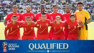 zdjęcie drużyny dla Peru (2018)