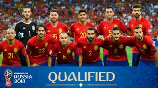 zdjęcie zespołu dla Hiszpania (2018)