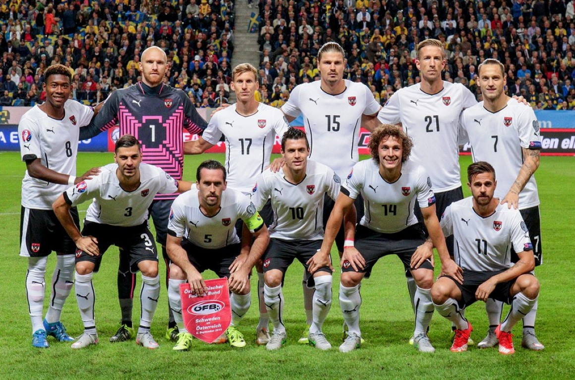 zdjęcie zespołu dla Austria