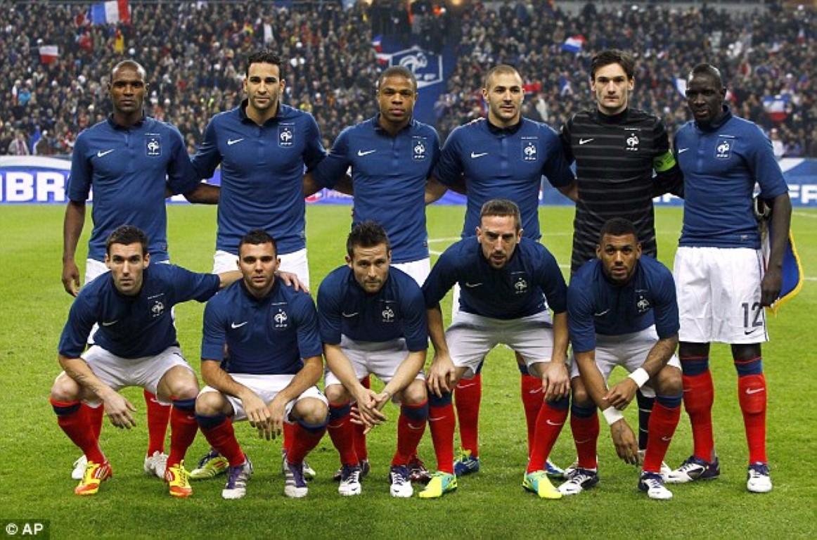zdjęcie zespołu dla Francja